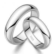 silver wedding bands engravable 999 silver rings sterling silver wedding bands