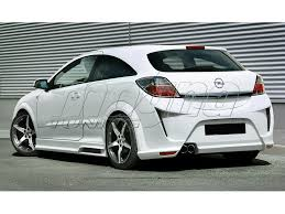 opel astra 2005 tuning astra h gtc attack body kit