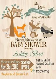 woodland baby shower ideas woodland baby shower invitations stephenanuno