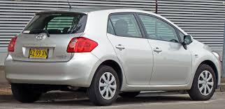 2009 Toyota Corolla Roof Rack by 2007 Toyota Corolla 5 Doors Partsopen