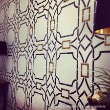Trellis Wall Stencil 249 Best Stenciled Walls Images On Pinterest Wall Stenciling