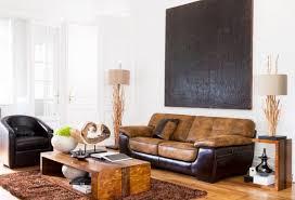bois et chiffon canapé bois et chiffons fauteuil photo 5 20 joli canapé brun clair et