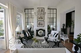Black And White Living Room Decor Ideas Decor Crave - Black and white living room decor