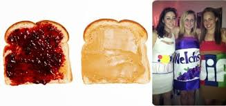 Halloween Costume Peanut Butter Jelly Technology Hilarious Quirky Halloween Costumes