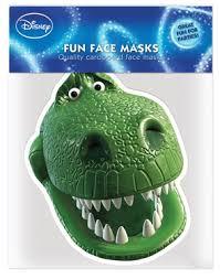 toy story rex dinosaur face mask monsters fancy dress