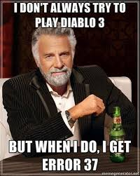 Diablo 3 Memes - diablo 3 s best error 37 jokes ign