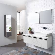 Bathroom Vanity Unit Worktops Roper Rhodes Pursuit Gloss White 1200mm Wall Mounted Unit With