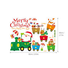 45 60cm merry christmas diy removable wall window stickers sales 45 60cm merry christmas diy removable wall window stickers sales online 1 tomtop com