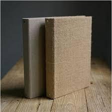 burlap photo album burlap and linen thick 30p 500g kraft paper diy album blank