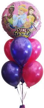 singing birthday balloons singing birthday balloons helium balloons perth disney princess