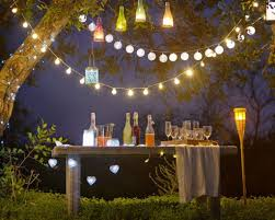 Diy Patio Lights by Homemade String Lights For Patio U2014 Home Ideas Collection