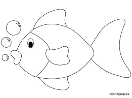 printable fish cutouts coloring pages free blueoceanreef