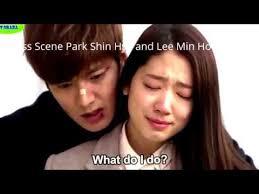 urutan film lee min ho scene park shin hye and lee min ho drama korea the heirs youtube