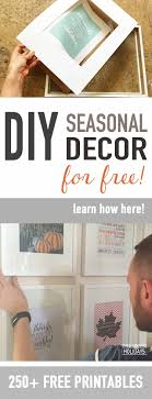 free printable art home decor decorate your home seasonally for free 250 free home decor