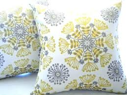 blue and gray sofa pillows yellow couch pillows decorative pillows sofa your living room grey