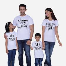matching family t shirts and set of 3 or 4 or more