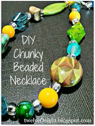 chunky bead necklace images How to make a chunky beaded necklace easy make ahead gift jpg
