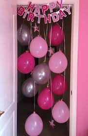 Birthday Decorations To Make At Home Best 25 Hanging Balloons Ideas On Pinterest Simple Birthday