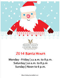 come see santa at the mall visiting hours posted miami
