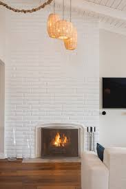 Fire Resistant Paint For Fireplaces 15 Gorgeous Painted Brick Fireplaces Hgtv U0027s Decorating U0026 Design