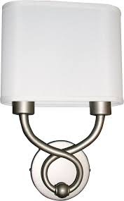 Fluorescent Wall Sconce Afx Hzs1016218qensnfss Hudson Satin Nickel Fluorescent Wall Sconce