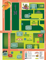 Festival Map 2017 Peach Festival Map Middletown Olde Tyme Peach Festival