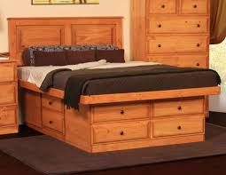 Plans For King Size Platform Bed With Storage by Bedroom Perfect Combination For Your Bedroom With Queen Size