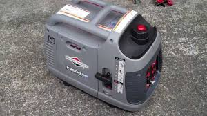 briggs u0026 stratton p2000 inverter generator overview youtube