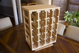 kitchen wine rack for countertop table with wine rack