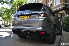 chrome range rover land rover range rover sport svr 17 august 2016 autogespot