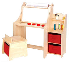 art table with storage small art table kids art desk hyperworks co