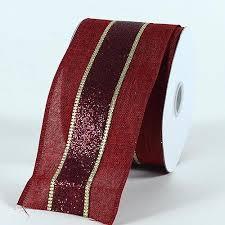 maroon ribbon christmas ribbons wholesale ribbons cheap