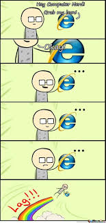 Memes Internet - internet explorer by pengu 333 meme center