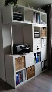 Bureau Avec étagère Kallax Ikea Ebay Organize Pinterest Kallax Bureau