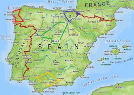 Granada Spain Map by Planning A Road Trip In Spain Curiosity Travels