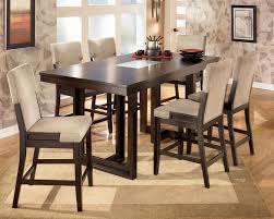 Dining Tables   Piece Counter Height Dining Set Indoor Bistro - Bar height dining table walmart