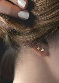 pierced earring best 25 ear piercings ideas on earrings