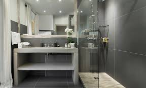 Contemporary Tile Bathroom - wonderful bathroom tile ideas u2013 adorable home