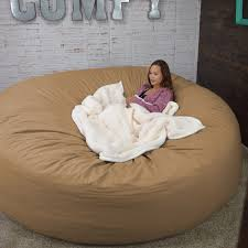 Oversize Bean Bag Chairs Bean Bag Bed 8 Foot Xtreem Oversized Bean Bag Chair Jet Com
