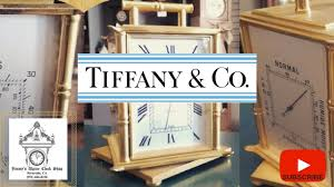 tiffany and co home decor tiffany u0026 co weather station clock i home decor youtube
