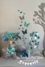 chambre bebe turquoise décoration chambre bébé turquoise caraïbe bleu pétrôle bleu canard