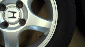 honda accord alloy wheels with tyres 195 65r15 4 x 114 3 youtube