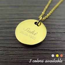 ring necklace with names images Engraved name circle pendant necklace jpg