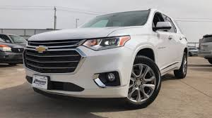 chevrolet traverse the redesigned 2018 chevrolet traverse premier 3 6l v6 review