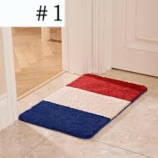 Luxury Microfiber Chenille Bath Rug Flag Microfiber Chenille Bath Mat Luxury Superabsorbent Mat Anti
