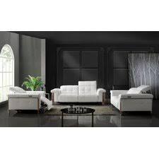 Modern White Living Room Sets AllModern - White living room sets