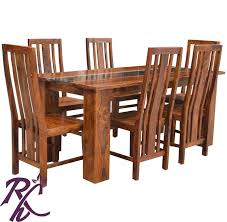 Glass Top Dining Table Online India Buy Modern Dining Online In India Rajhandicraft Furniture