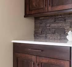 stone backsplash kitchen interior bar with tile backsplash stacked stone backsplash