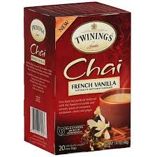 twinings of chai vanilla tea bags 20ct pack of 6