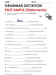 english grammar past simple www allthingsgrammar com past simple